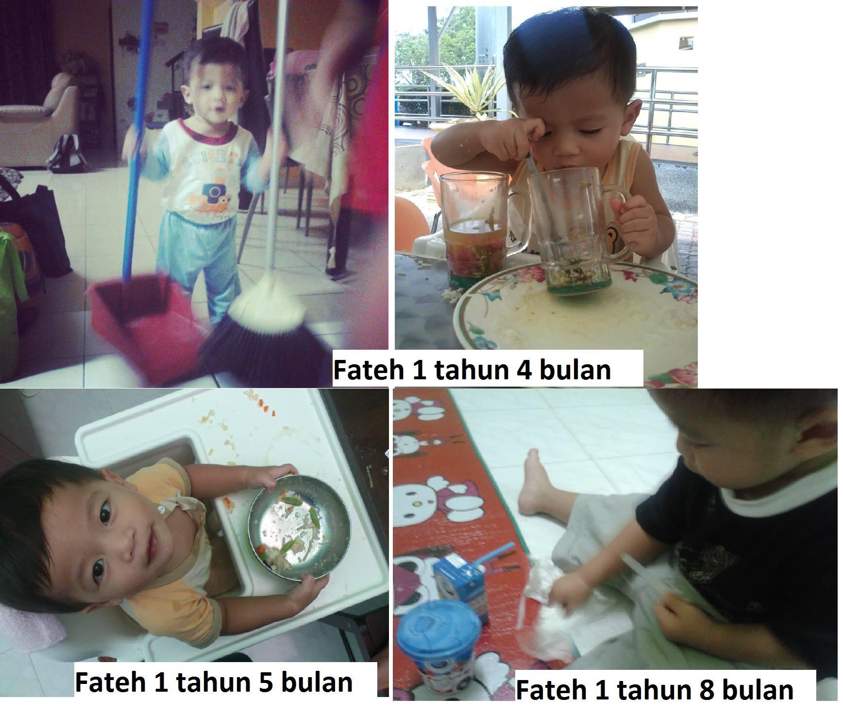 Ajari Anak Kemas Selepas Makan Sejak Bayi