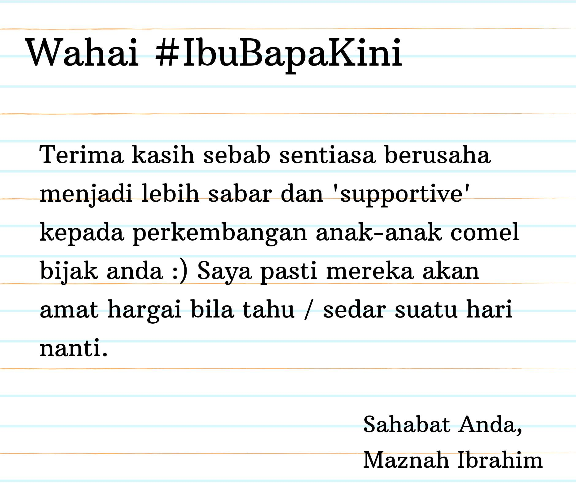 Tips Keibubapaan #38 ( Yakinlah Pada Diri Anda Telah Perbuat Yang Terbaik )
