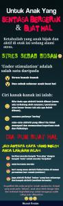 Tips Keibubapaan #41 ( Fahami Sebab Anak Buat Hal dan Cara Bantu Anak )