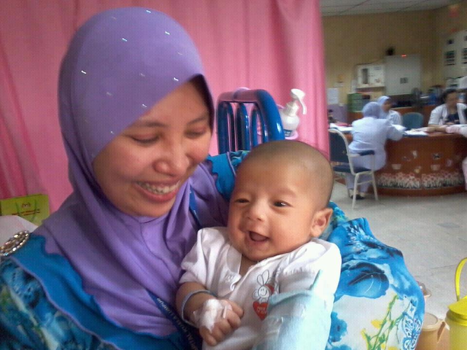 fateh acute ITP usia 59 hari masuk wad maznah ibrahim