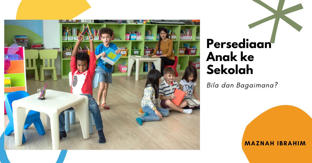 You are currently viewing Anak Menolak Ke Sekolah? Lakukan Persediaan Ini Setelah Cuti Lama PKP