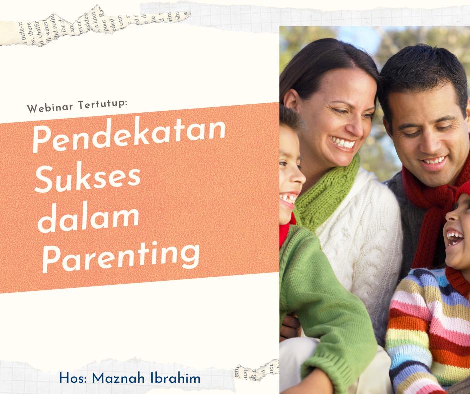 BETULKAH PENDEKATAN PARENTING KITA KEPADA ANAK KITA SELAMA INI?