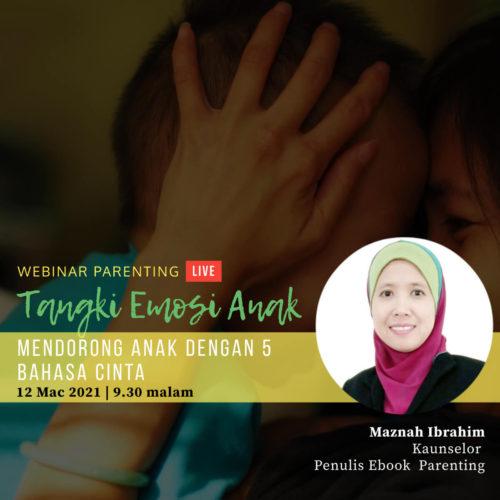 Webinar Parenting: Tangki Emosi Anak