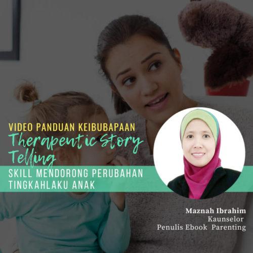 video panduan keibubapaan parentingtherauputic Story telling